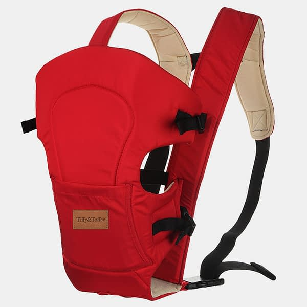 Baby Bunk Comfy 2 in 1 – Baby Carrier – Red Beige