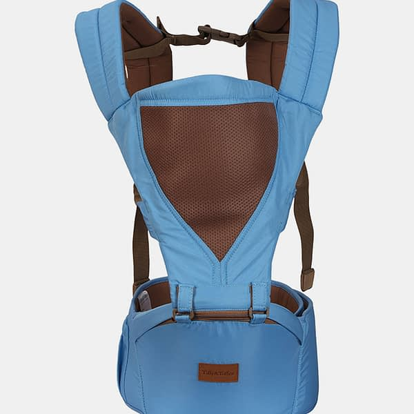 Baby Bunk Hip Seat – Baby Carrier – Blue