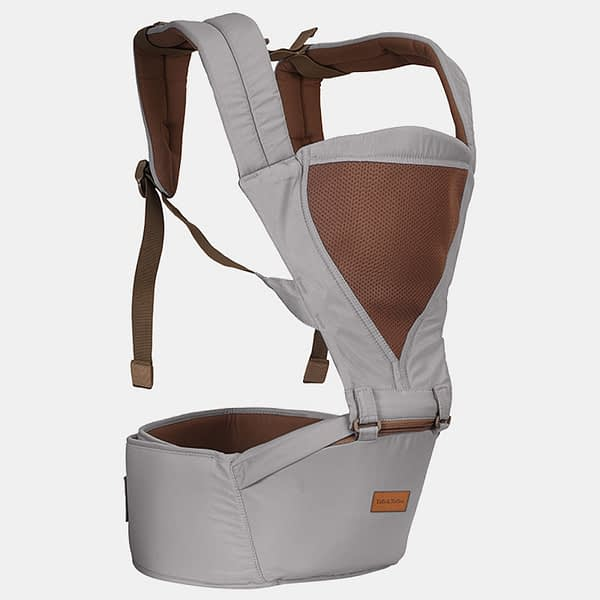 Baby Bunk Hip Seat - Baby Carrier - Grey