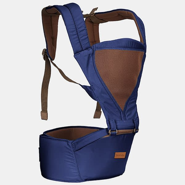 Baby Bunk Hip Seat - Baby Carrier - Dark Blue