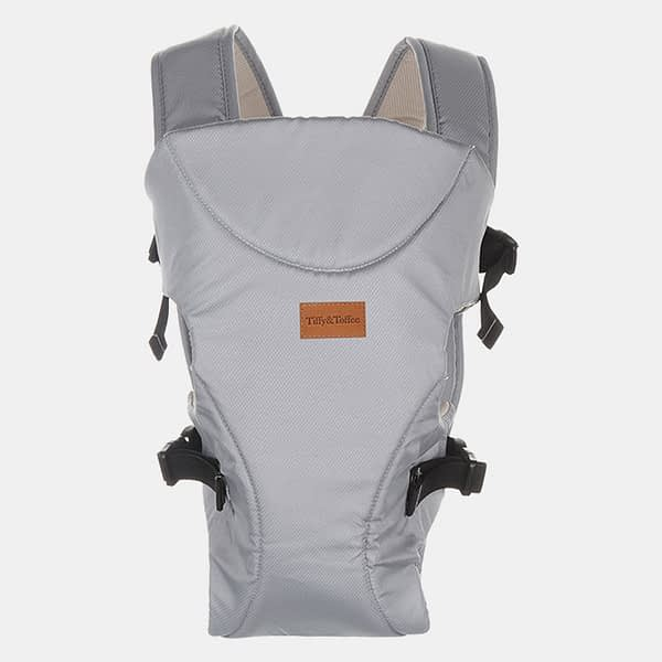 Baby Carrier Bag - Baby Bunk Maxtrem - Grey - Front
