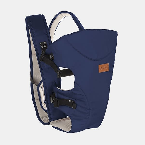 Baby Carrier Bag - Baby Bunk Maxtrem - Navy Blue - Side