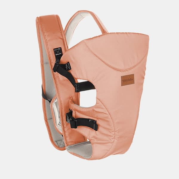 Baby Carrier Bag - Baby Bunk Maxtrem - Navy Pink - Side