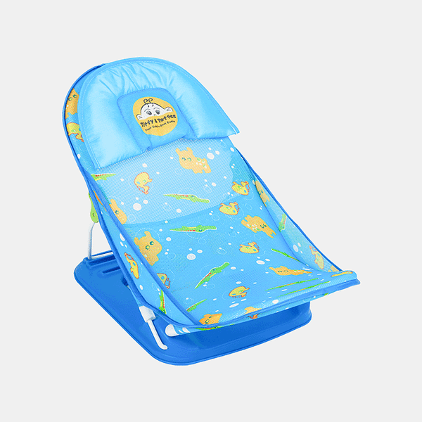 Aqua Love Baby Bather - Blue - Side