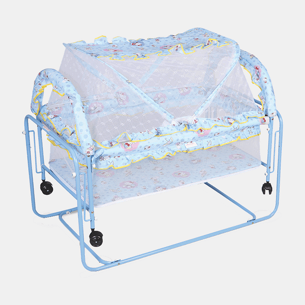 Happy Dream Baby Cot and Cradle - Baby Crib - Bed - Blue