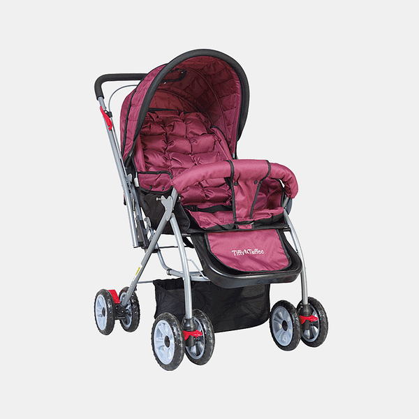 Maxtrem Baby Stroller Prams Buggy - Royal Purple