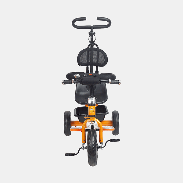 Kids Tricycle - Navigator Bike - Orange Black - Front
