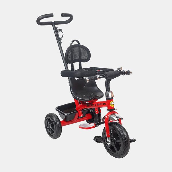 Kids Tricycle - Navigator Bike - Red Black - Front