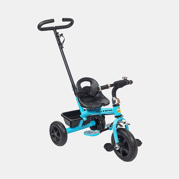 Kids Tricycle - Voyager Bike - Blue - Side