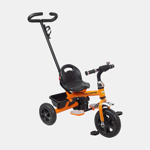 Kids Tricycle - Voyager Bike - Orange - Side