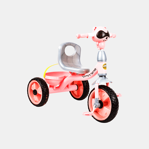 Cruze Kids Tricycle - Pink - Front