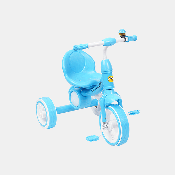 Dancing Light Kids Tricycle - Light Blue - Side