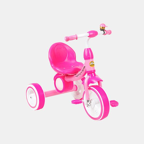 Dancing Light Kids Tricycle - Light Pink - Front