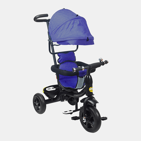 Kids Tricycle - Fully Loaded Bike Trike - Royal Blue - Front