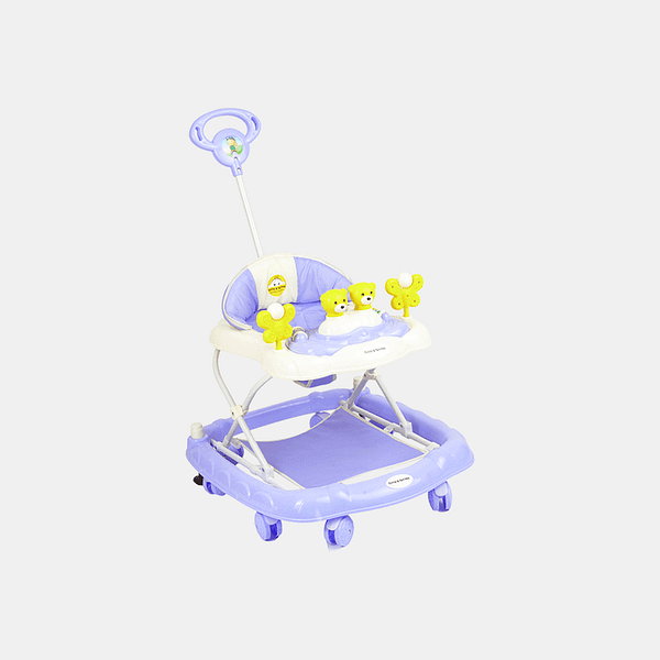 2 in 1 Baby Walker - Early Learning - Violet - Side