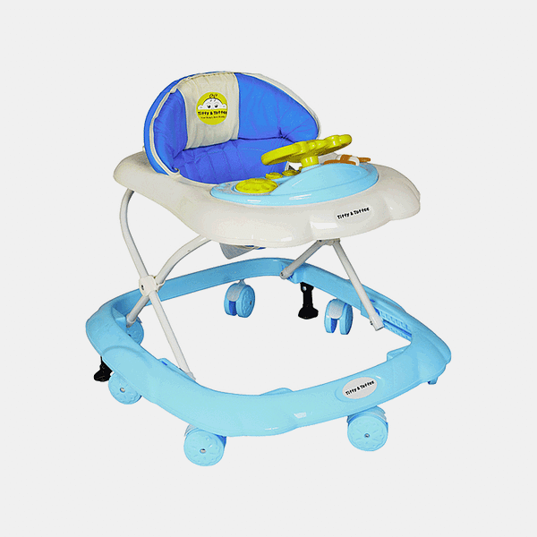 Maxtrem Baby Walker - Early Learning - Blue - Side
