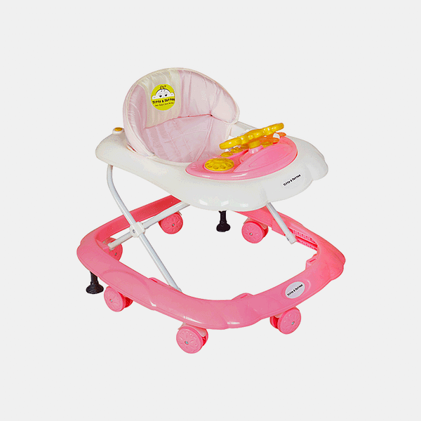 Maxtrem Baby Walker - Early Learning - Pink - Side