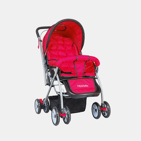 Maxtrem Baby Stroller Prams Buggy - Red