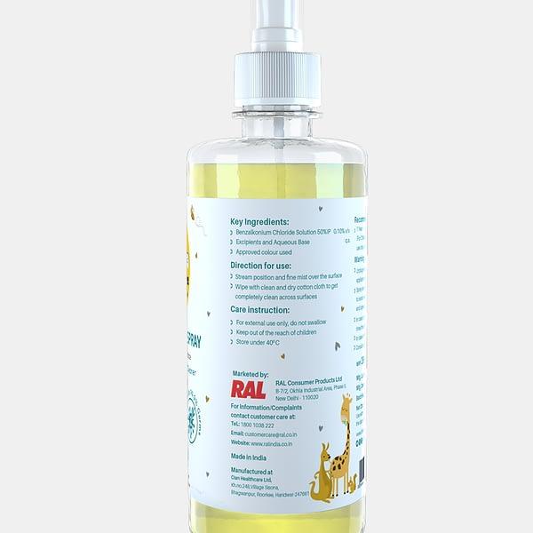 Lemon Flavor Disinfectant Spray