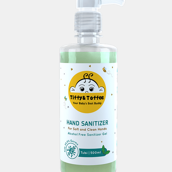 Alcohol Free Hand Sanitizer - Tulsi Flavor
