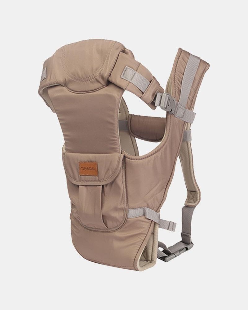 Baby Bunk Delight 5 in 1 – Baby Carrier – Grey
