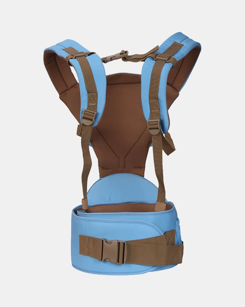 Baby Bunk Hip Seat - Baby Carrier - Blue