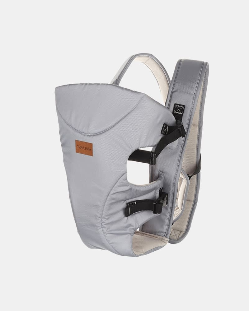 Baby Carrier Bag - Baby Bunk Maxtrem - Grey - Side