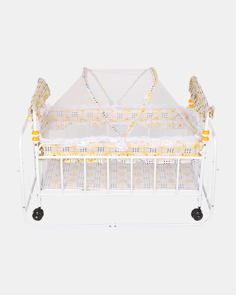 Little Kingdom Baby Cot and Cradle - Baby Crib - Bed - Yellow