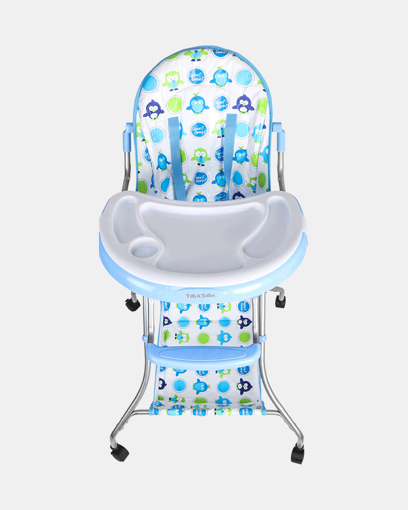 Baby High Chair - Feeding Chair - Indigo Blue