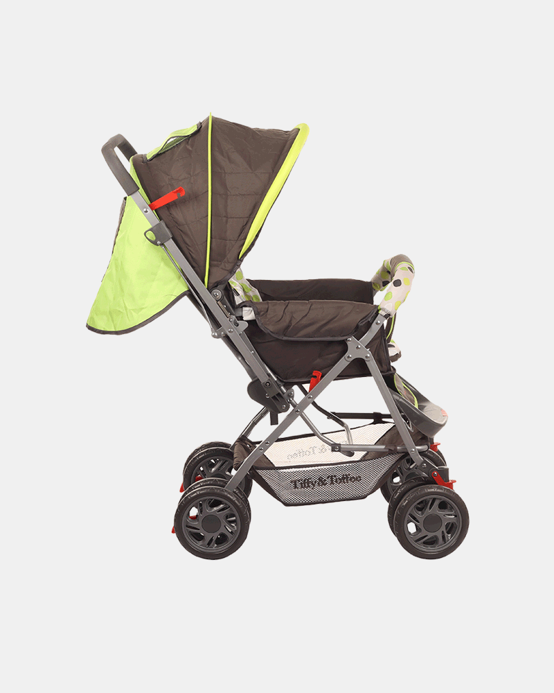 Smart and Safe Baby Stroller Prams Buggy - Green