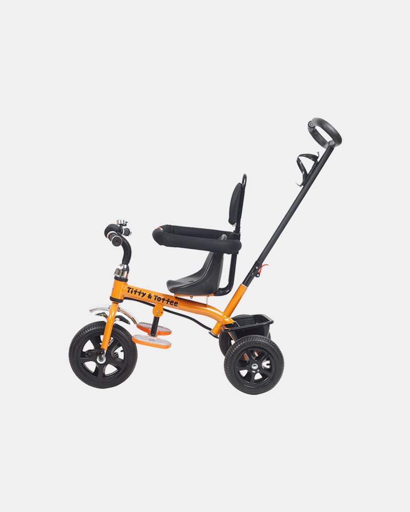 Kids Tricycle - Navigator Bike - Orange Black - Side
