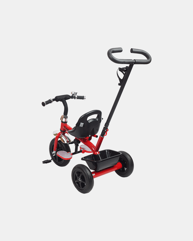 Kids Tricycle - Voyager Bike - Red - Back