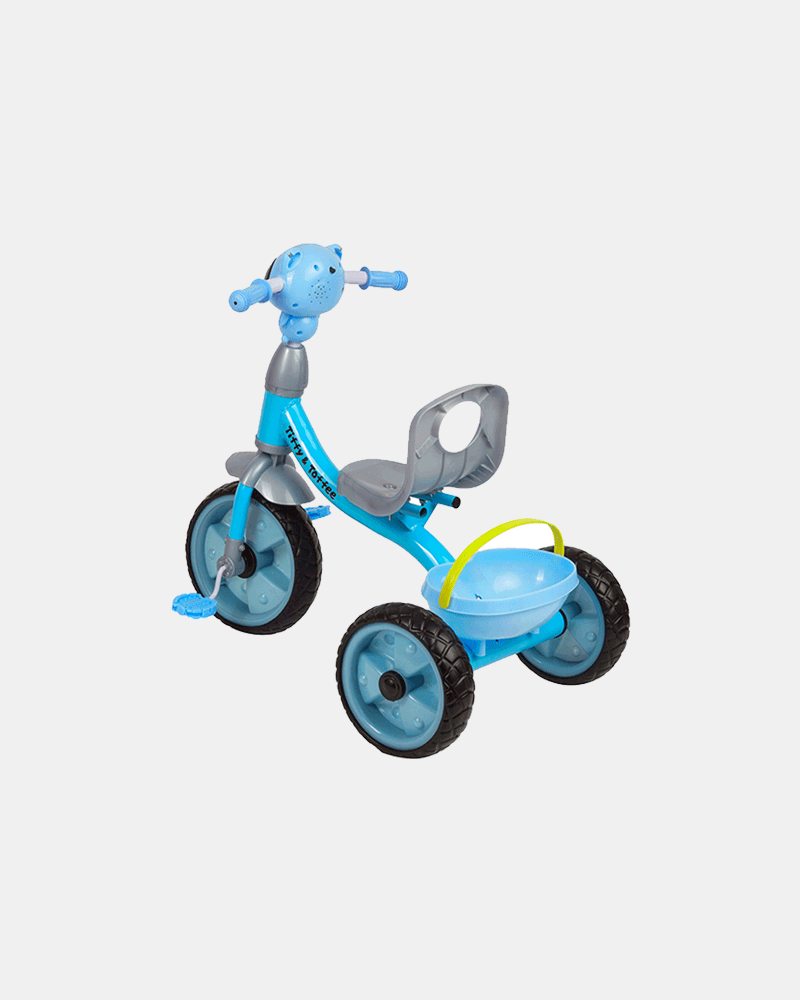 Cruze Kids Tricycle - Blue - Back