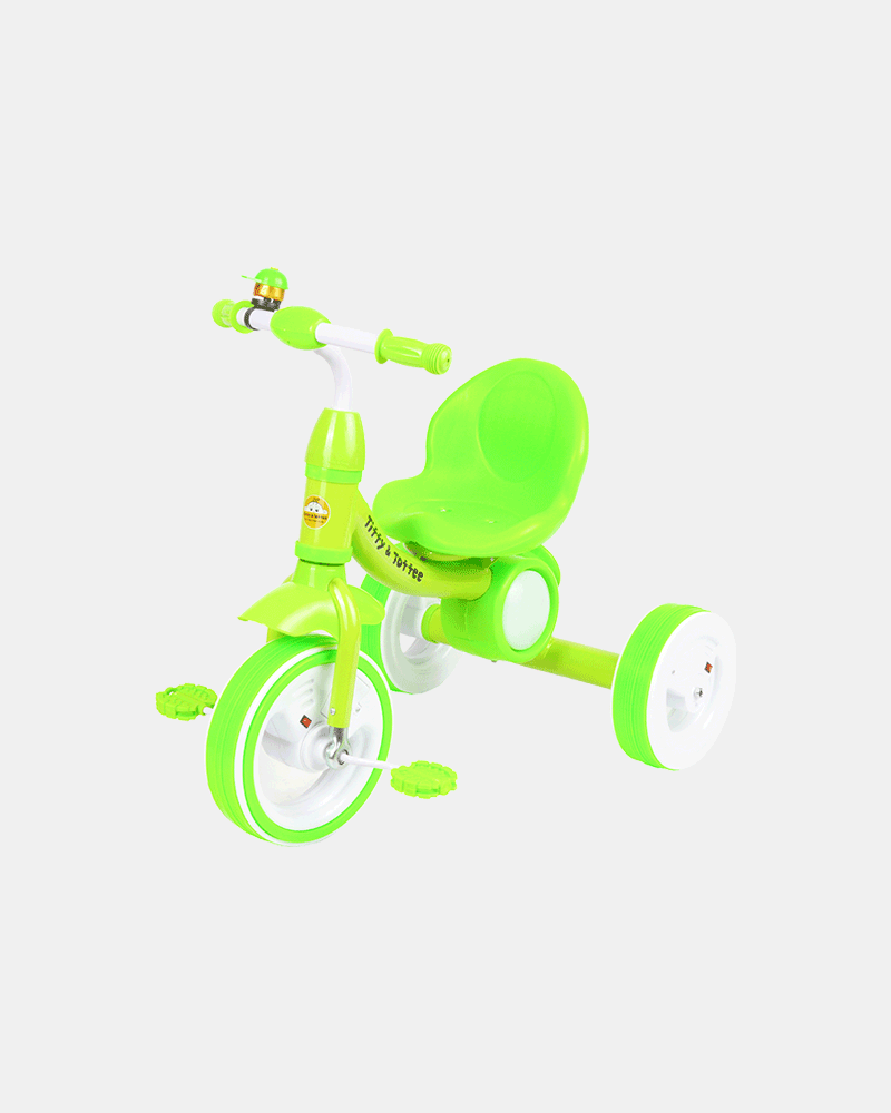 Dancing Light Kids Tricycle - Light Green - Side