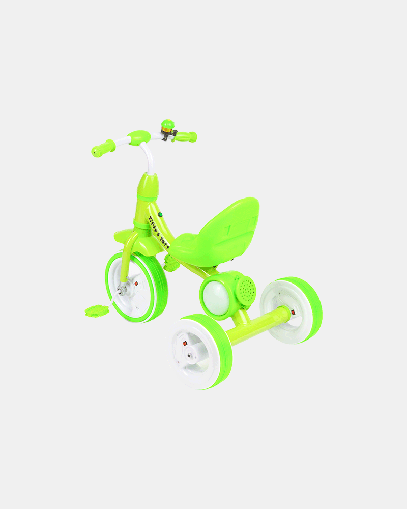 Dancing Light Kids Tricycle - Light Green - Back