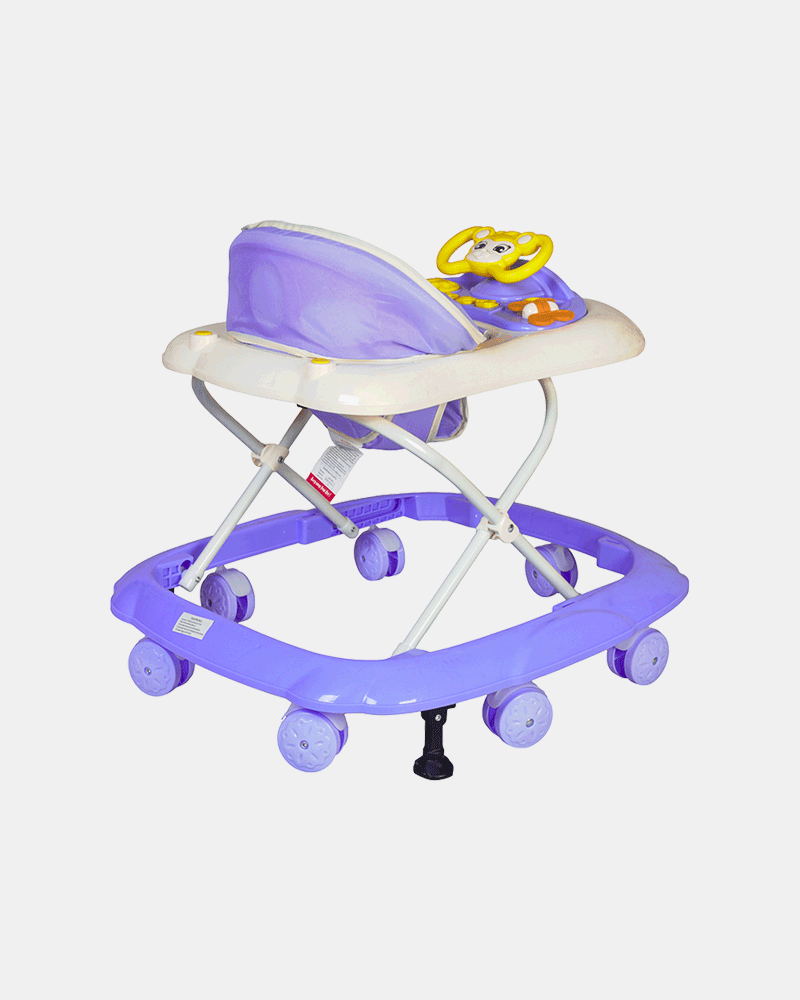 Maxtrem Baby Walker - Early Learning - Violet- Back