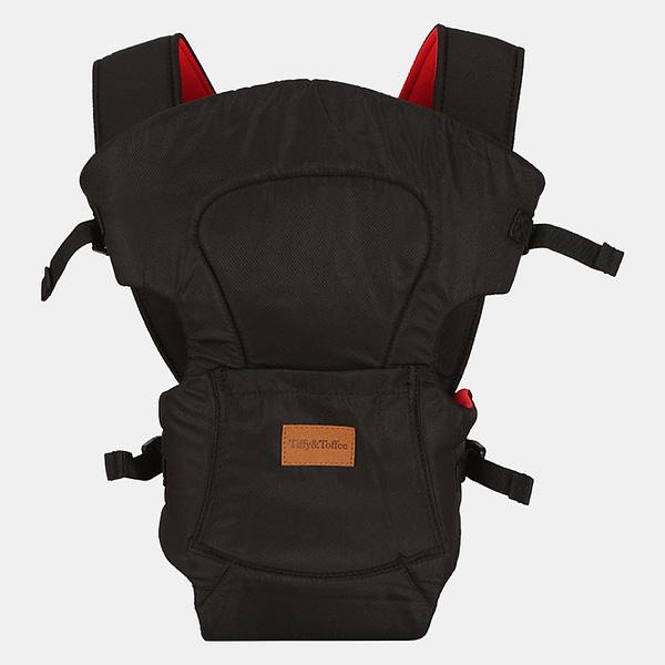 Baby Bunk Comfy 2 in 1 – Baby Carrier – Black Maroon
