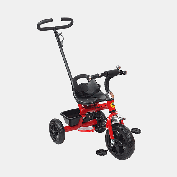 Kids Tricycle - Voyager Bike - Red - Side