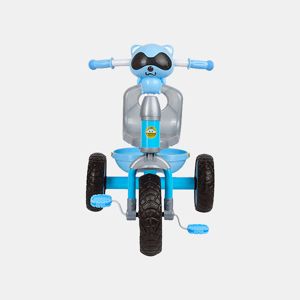 Cruze Kids Tricycle - Blue - Front