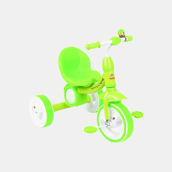 Dancing Light Kids Tricycle - Light Green - Front
