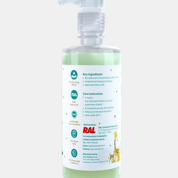 Alcohol Free Hand Sanitizer - Tulsi Flavor